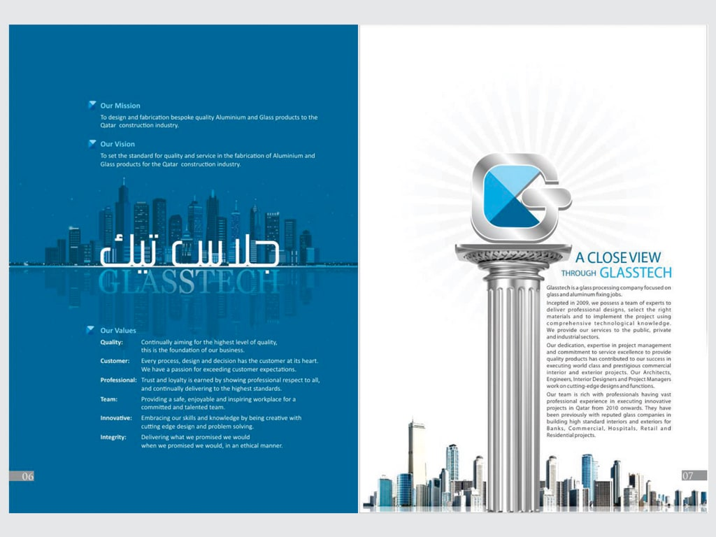 Best Brochure Design in Qatar Company Profile Designers Qatar