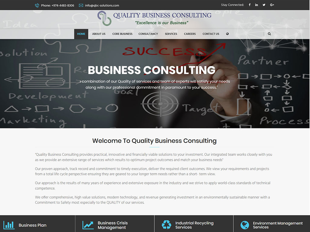 Business Consulting Qatar